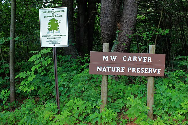 Carver Farm sign