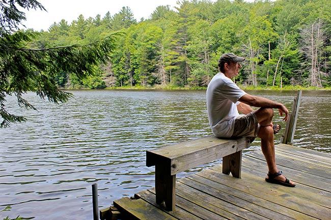 Bucket Pond Dock