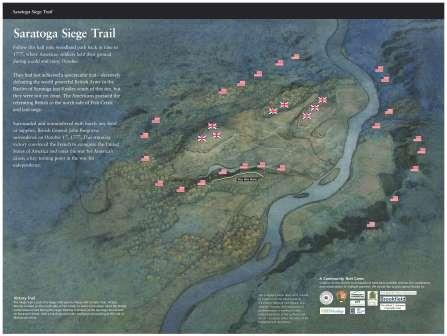 Siege Trail Opening in Village of Victory