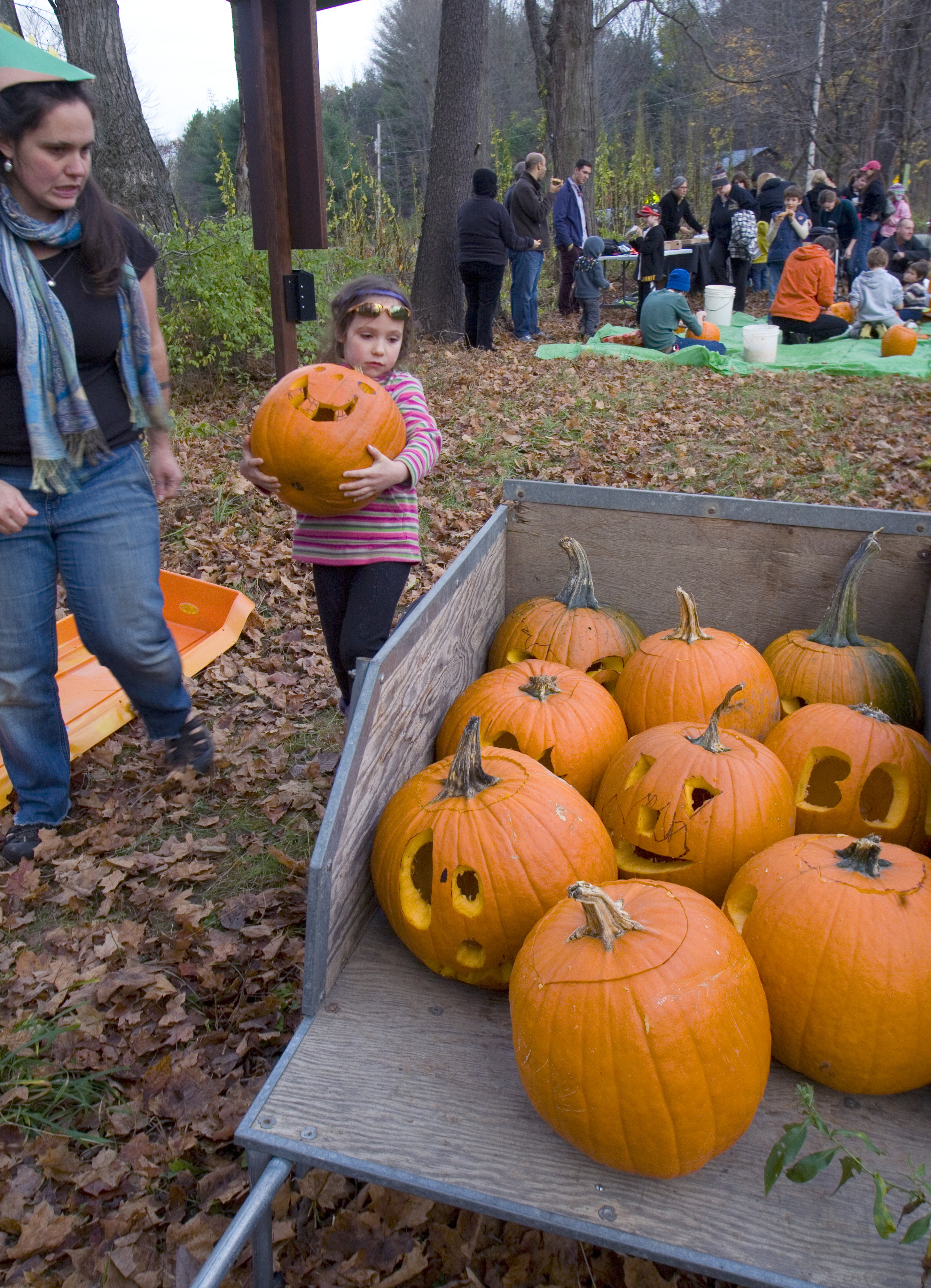 Pumpkin Carving and Costume Parade
